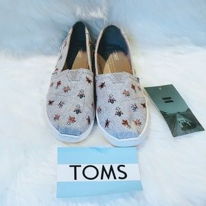 Toms Slip-On Vegan Alpargata Shoes
